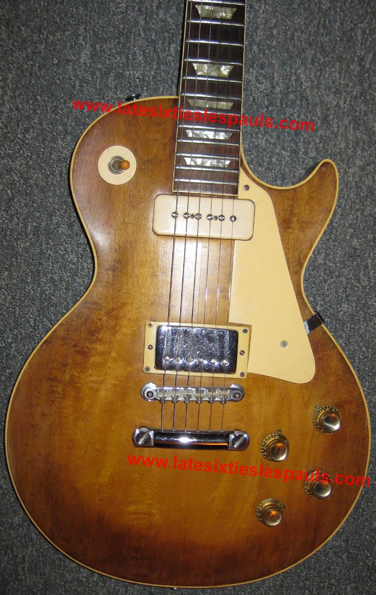 1968 Les Paul And 1969 Serial Number Information Kramer Focus Guitar Wiring Diagram 528xxx Lp Standard