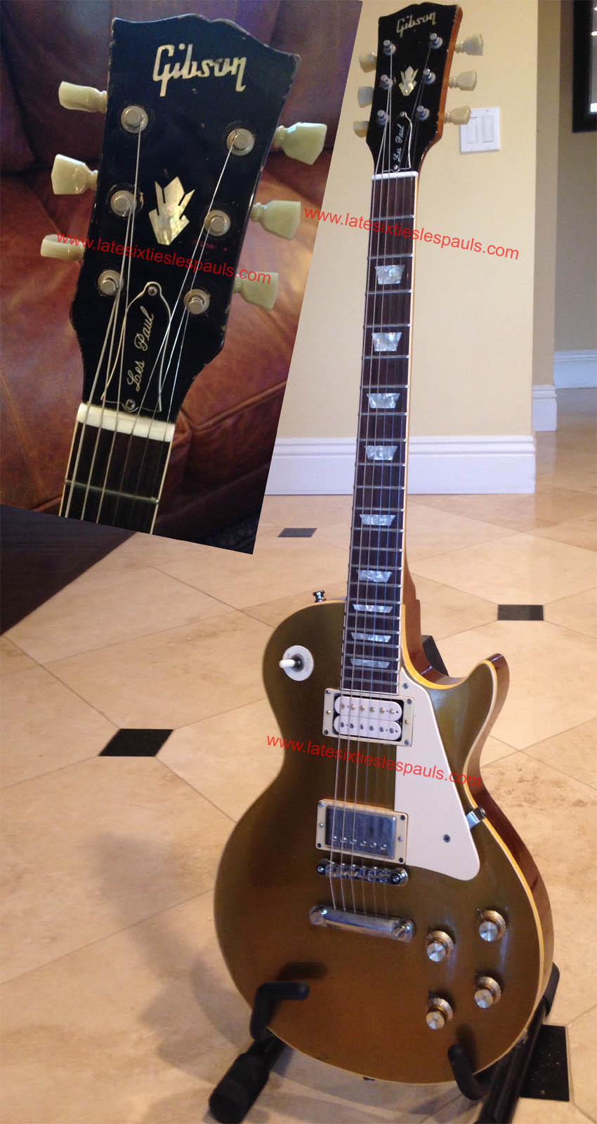 1968 Les Paul And 1969 Serial Number Information 1981 Gibson Wiring Harness 505xxx Lp Standard