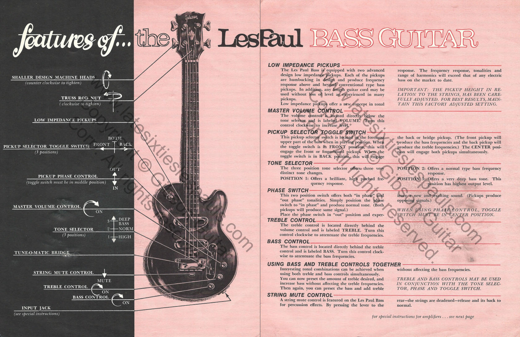 1968 Les Paul and 1969 Les Paul Serial Number Information